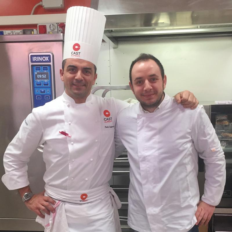 Immagine - Incontri da gustare, lo chef stellato Paolo Cappuccio ospite del collega Michele Rizzo